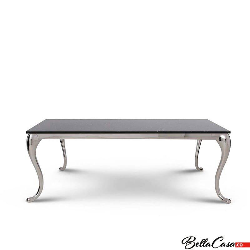 Coffee Table Orlando Steel Modern Glamour Stone Top Ława Bellacasa Co 001 Jpg 002