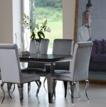 Velluto Grigio dinette - the grey velvet